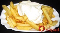 Keď ochutnáte hranolky na belgický spôsob, iné už chcieť nebudete: Obyčajné hranolky oproti nim nemajú šancu! Snack Recipes, Cooking Recipes, Snacks, No Cook Meals, Street Food, Waffles, Fries, Food And Drink, Potatoes