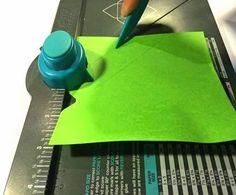 La Dolceria: Scatolina Portaconfetti con Envelope Punch Board!