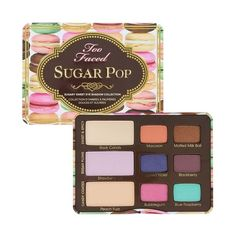 Too Faced Sugar Pop Eye Shadow Collection Palette ❤ liked on Polyvore featuring beauty products, makeup, eye makeup, eyeshadow, palette eyeshadow and too faced cosmetics
