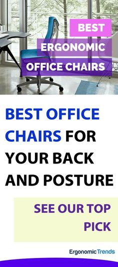 """After over 100 hours of research. I unveil my top picks for best office chairs you should get in 2018 for better health and posture. The #1 chair will blow your mind, billed as the world's first """"health positive"""" chair."""