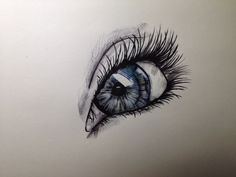 Copy of one that's already out there, done using biro and water