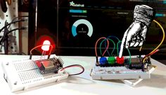 Connect 2 ESP8266 to eachother using MQTT and Adafruit I/O. One uses buttons to set the color on an RGB led of the other ESP8266. Excellent demo and documentation