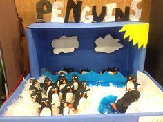 Penguin diarama