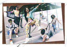 Street Fashion. 2014. Photographer Juergen Knoth. streetwear. group action. outdoor fun. björn borg. adidas.