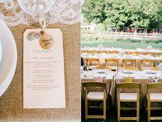 burlap wedding ideas - photo by Sarah Rose Burns Photography http://ruffledblog.com/colorado-wedding-under-the-super-moon