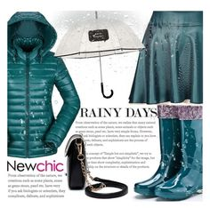 """""""Let it rain on me #Newchic"""" by fattie-zara ❤ liked on Polyvore featuring Kate Spade and lovenewchic"""