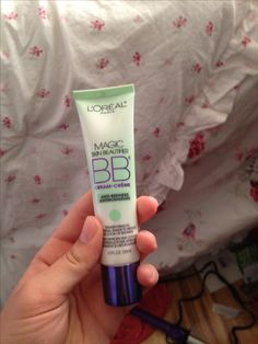 To get rid of the annoying red cheeks