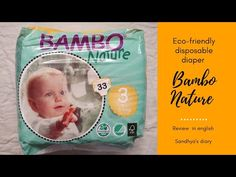 Bambo nature eco-friendly disposable diaper review /english vlog - YouTube Sustainable Forestry, Forest Stewardship Council, Disposable Diapers, Bambi, Eco Friendly, Channel, English, Youtube, English Language