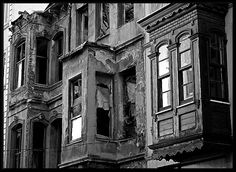 "Memory from the past - Istanbul, ""Istanbul old houses, and low rise buildings, are real works of art, worth preserving. This one deserves to be restored."" by William Almonte Jimenez @ trekearth.com"