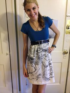 handmade Lord of the Rings, Middle Earth skirt
