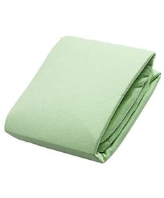 Flannel Fitted Crib Sheet | Green