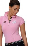 Spooks Lina Polo Shirt - a must-have for summer riding #spooks #equestrian #clothing #polo #shirt