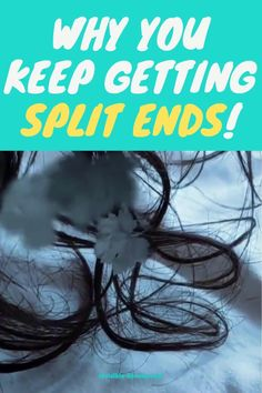 All you want is healthy hair growth but your hair keeps breaking and splitting? This is why you keep getting split ends! Vitamins For Hair Growth, Hair Vitamins, Healthy Hair Growth, Hair Keeps Breaking, Hair Without Heat, Best Hair Care Products, Curly Girl Method, Hair Growth Tips, Split Ends