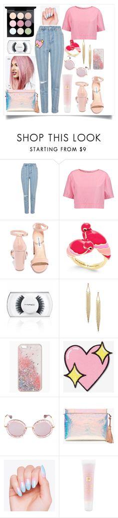"""pink."" by rostovskaya-regina on Polyvore featuring мода, Topshop, Marni, Steve Madden, Kate Spade, MAC Cosmetics, Big Bud Press, Miu Miu, J.Crew и Lancôme"