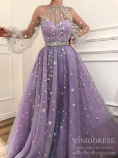 Charming purple prom dress,tulle with star evening dress,long a-line party dress from SofieDress A-Line Evening Dress, Purple Evening Dress, Prom Dress Prom Dresses 2019 Purple Evening Dress, Prom Dresses Long With Sleeves, A Line Prom Dresses, Cheap Prom Dresses, Dresses For Teens, Ball Dresses, Sexy Dresses, Nice Dresses, Dress Long