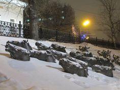 фото: Иван Орлов,   Москва, Гоголевский, часть памятника Шолохову  https://www.facebook.com/profile.php?id=100001934181220