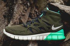 "Nike Free Run 2 SneakerBoot ""Medium Olive"""