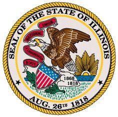 Illinois State Seal - Illinois Unit Study