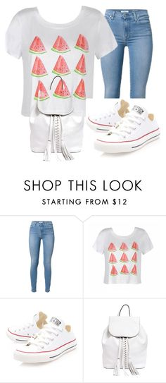 """Sin título #1"" by beatrizbrito-1 ❤ liked on Polyvore featuring Ally Fashion, Converse and Rebecca Minkoff"