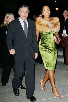 Robert De Niro & Grace Hightower (his wife)