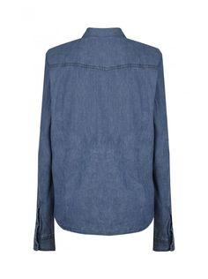 Chemise en jean à motifs stone - tee-shirts femme - naf naf