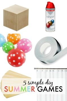 5 Simple DIY Summer Games | eBay