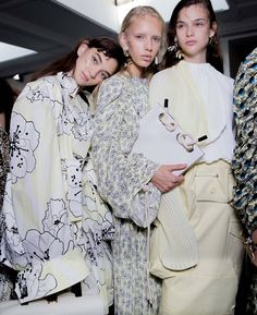 Behind-the-scenes at Marni during Milan Fashion Week. Photographed by Kevin Tachman.