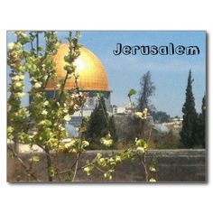 Jerusalem Beautiful PostCard