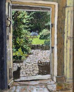 Mike Hall paintings at Beaulieu Fine Arts