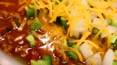Every year when football season rolls around and the weather begins to cool, my husband requests I make this hearty, beanless chili. It receives rave reviews from everyone.