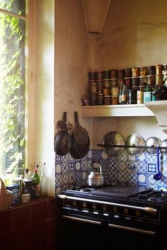 obsessed with rustic country kitchens! the-once-and-future-house