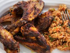 Sticky Chicken Wings and Kasir Recipe