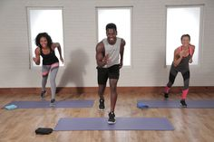 A Calorie-Torching 30-Minute Tabata Workout to Burn Some Serious Calories: This calorie-torching cardio and sculpting workout is one of our hardest ever, but Equinox Tabata instructor Raneir Pollard's amazing energy will inspire you to fight for it.