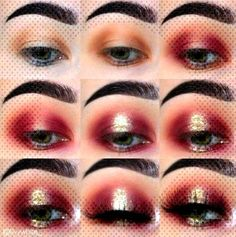 Ideas For Makeup Looks Step By Step Nail Art Ideas For Makeup Looks Step By Step Nail ArtYou can find Red makeup looks and more on ou. Red Makeup Looks, Eye Makeup, Makeup Ideas, Nail Art, Nails, Makeup Eyes, Finger Nails, Eye Make Up, Ongles