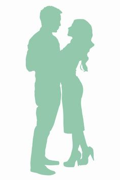 Our silhouette on our invitations