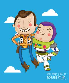 39/52 Woody and Buzz by suupergirl