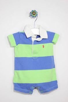 Ralph Lauren Size 0-3M Stripe Jumper