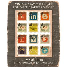 Under a creative spell: Let's get social - free social media icons for paper crafters and more!