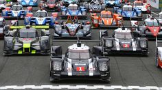 Letzter Test vor Le Mans: Audi und Toyota jagen Porsche