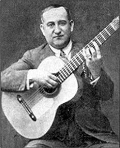 El guitarrista Ramón Montoya