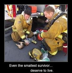Even the smallest survivor deserve to live