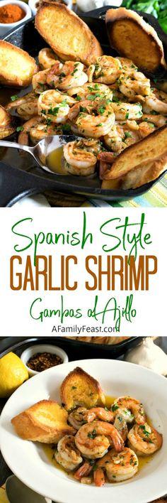 Spanish-Style Garlic Shrimp (Gambas al Ajillo)