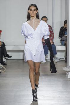 93dab380e8aea Olivier Theyskens Spring 2018 Fashion Show