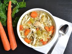 Homemade Chicken Noodle Soup - Budget Bytes
