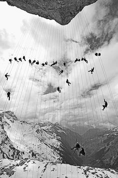 © Robert Bösch, 2000s, Klausenpass, Switzerland This photo is part of his book 'Moments' / Benteli Verlag: