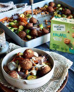 BRENTE MANDLER - Mat På Bordet Sprouts, Potato Salad, Spicy, Potatoes, Vegetables, Ethnic Recipes, Food, Caramel, Red Peppers