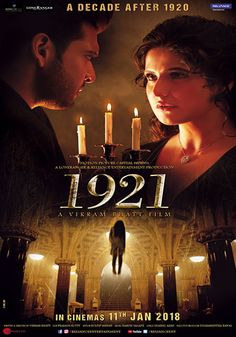Based in the year 1921 the film deals with Ayush and Rose's battle with extreme paranormal activities created by a ruthless and cursed spirit that would lead them to their ultimate redemption or downfall. Horrow Movies, 2018 Movies, Hindi Movie Film, Hd Movies Download, Movie Downloads, Hindi Movies Online, Be With You Movie, Popular Movies, Movie Posters