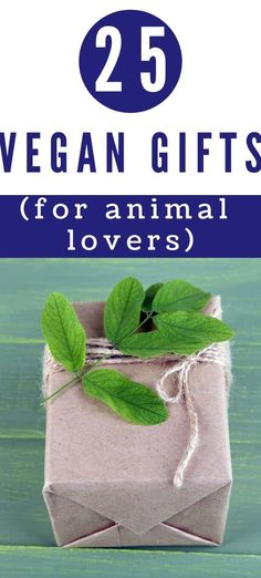 Cruelty-Free Presents - Whether you are vegan or shopping for a vegan, this vegan gift guide will help you find the perfect cruelty-free present for plant-based living girlfriend, mom or grandma!