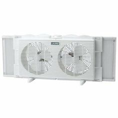 7 Twin Window Fan 2 Speed  #Lasko #Home