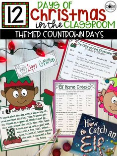 Elf Day: Daily Christmas Countdown Activities